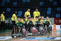 Рио 2016 - международный чемпионат рэгби кресло-коляскы Стоковые Фотографии RF