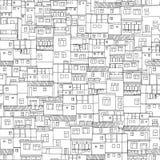 Рио расквартировывает безшовную картину бесплатная иллюстрация
