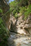 Рио Chillar, Nerja, Малага Стоковое Фото