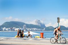 Рио de Janeiro-Бразилия Стоковое Изображение