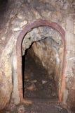 рискованное предприятие выдержки входа подземелья стоковая фотография rf