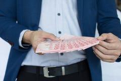 Риск и вклад денег дела Стоковые Изображения