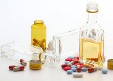 Риск наркомании стоковое изображение rf
