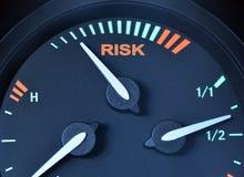 риск принципиальной схемы Стоковые Фотографии RF