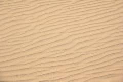Рисовать в песке вышл ветром лета стоковое изображение