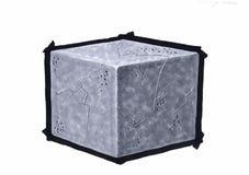 Рисовать куб Стоковое Изображение RF