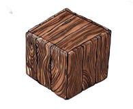 Рисовать куб Стоковые Фото