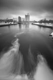 Рисовать на воде Стоковая Фотография