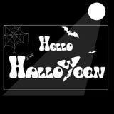 Рисовать на теме хеллоуина Стоковые Изображения