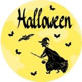 Рисовать обои на теме хеллоуина Стоковое Фото