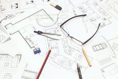 рисовать технический Стоковые Изображения
