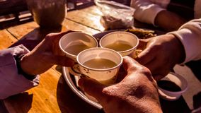 Рисовое вино Стоковая Фотография