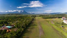 Рисовые поля Kota Belud стоковое изображение rf