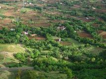Рисовые поля в лете-Ii Стоковая Фотография RF