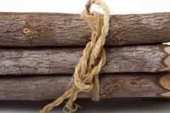 рисуйте белую древесину Стоковая Фотография RF