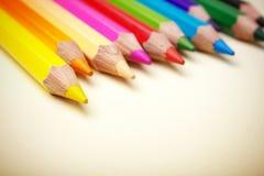 Рисуйте Crayons Стоковое Изображение RF