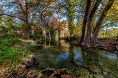 Рисуночное Кристл - ясный поток в Техас. Стоковое Изображение RF