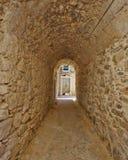 Рисуночный переулок, остров Хиоса стоковое фото