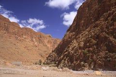 Gorge Todra, Марокко Стоковое Изображение