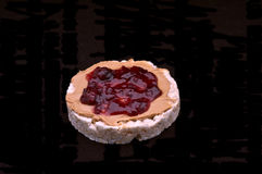 рис арахиса студня торта масла стоковые изображения