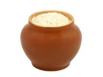 рис бака глины Стоковое Фото