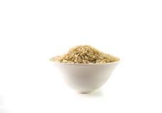 Рис в белой чашке Стоковое Фото