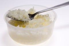 Рис в ложке Стоковые Изображения RF