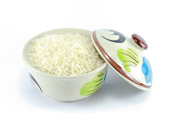 Рис в чашке Стоковая Фотография RF