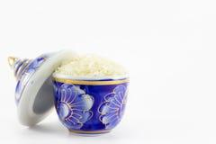 Рис в чашке Стоковое Изображение