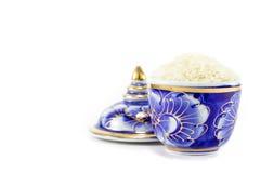 Рис в чашке Стоковые Фото