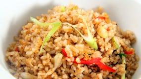 рис еды Азии зажаренный Стоковые Изображения RF