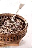 рис зерна корзины Стоковые Фотографии RF