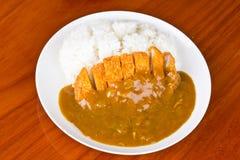 Рис и карри Стоковые Фото