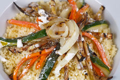 Рис и перец Стоковое Фото