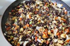 Рис и фасоли Коста-Рика стоковая фотография rf
