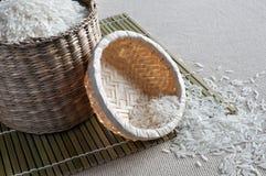 рис корзин малый Стоковая Фотография