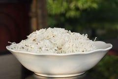 рис лапшей idiappam индийский Стоковое Фото