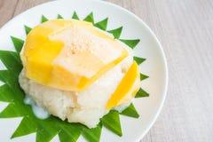 рис мангоа липкий Стоковое фото RF