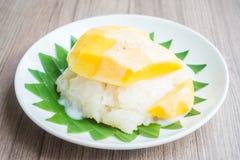 рис мангоа липкий Стоковые Фото