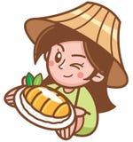 Рис манго липкий стоковая фотография rf
