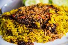 Рис потока тайской еды изысканный Стоковое Фото