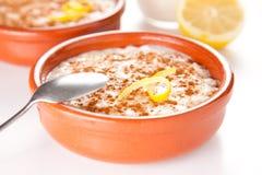 рис пудинга десерта циннамона вкусный Стоковое фото RF