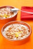 рис пудинга десерта циннамона вкусный Стоковые Изображения
