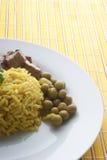 рис свинины гуляша карри Стоковое Фото