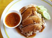 Рис с уткой жаркого стоковые изображения rf