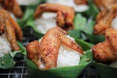Рис цыпленка огня Стоковое фото RF