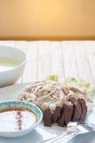 рис цыпленка hainanese Стоковые Фотографии RF