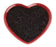рис черного китайского сердца красный традиционно стоковые фото