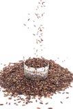 Рис чела, предпосылка еды стоковые изображения rf