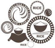 Рис иллюстрация вектора